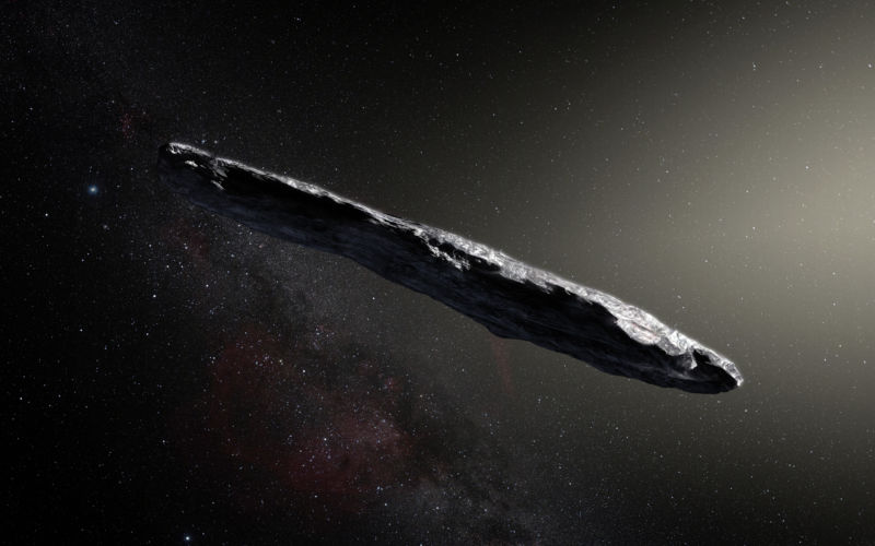 Online media predictably broke off about Oumuamua and Harvard scientists