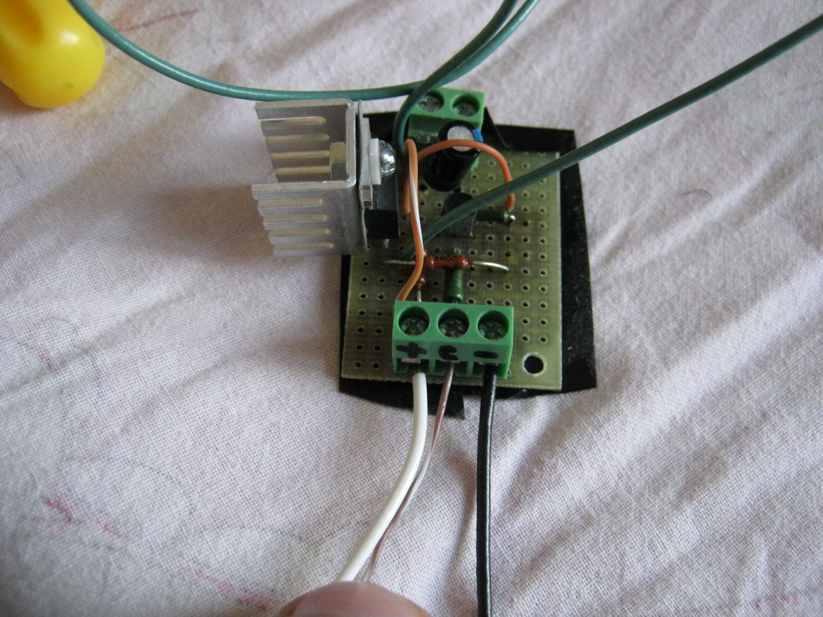 схема проверки ламп подсветки