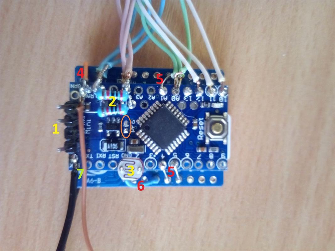 Arduino Pro Mini 3v