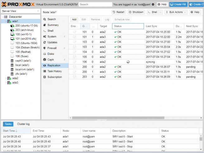 Тем временем Proxmox VE обновился до версии 5 0 / СоХабр
