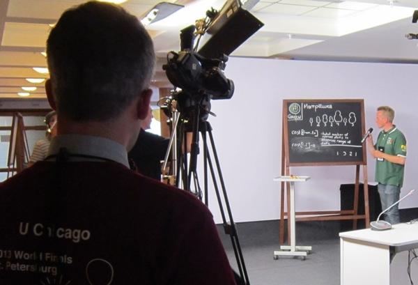 Разбор задачи «Матрёшка» во время трансляции ACM ICPC 2013