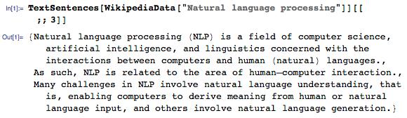Новое в Wolfram Language: функция WikipediaData для интеграции с Википедией ...