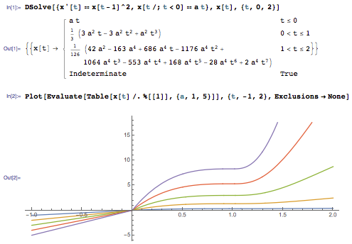 Solving differential equations in Mathematica 10