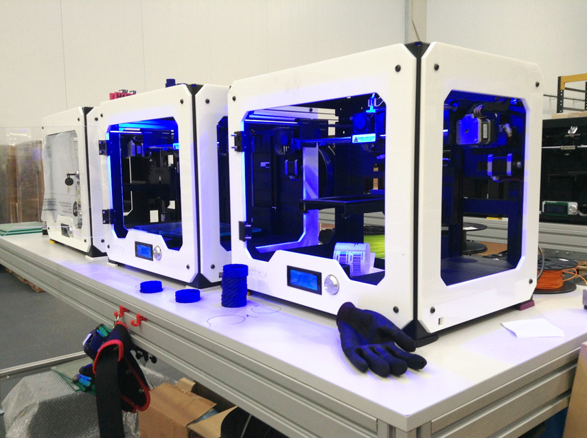Производство 3Д принтеров Witbox