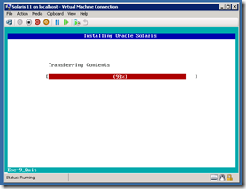 Solaris Express Hyper-V Copy