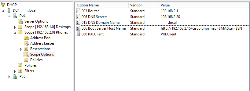 Автопровижининг Cisco SPA504g и Asterisk. Часть 2. Настройка DHCP-сервера и Apache