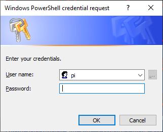 Get-Credential