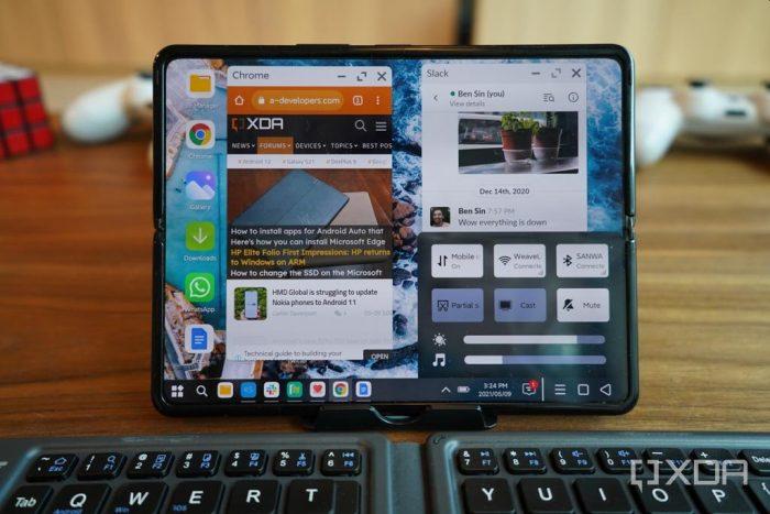 Перевод Компания Xiaomi представила десктопный интерфейс для Android на своем складном телефоне  и он неплохо работает