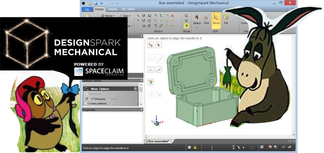 DesignSpark Mechanical: Моделируем полезную коробочку Безвозмездно