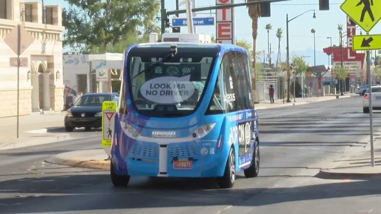 Власти США завершили расследование аварии робоавтобуса, которая произошла в 2017 году