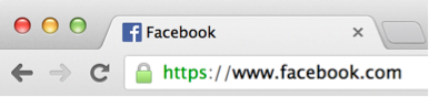 Facebook включил HTTPS для всех