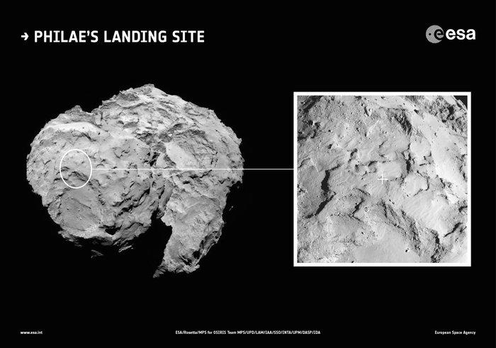Rosetta приблизится к комете Чурюмова Герасименко на расстояние 10 километров