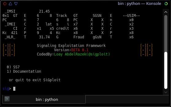 SigPloit: опубликован фреймворк для тестирования телеком-уязвимостей в прот ...