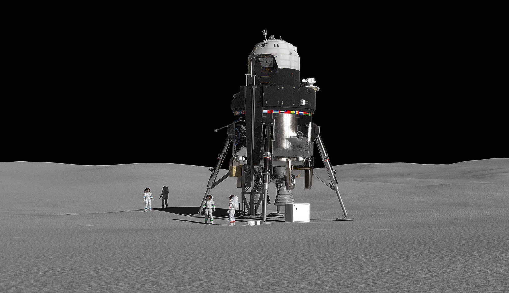 [Перевод] Lockheed Martin раскрывает подробности проекта посадочного лунного модуля