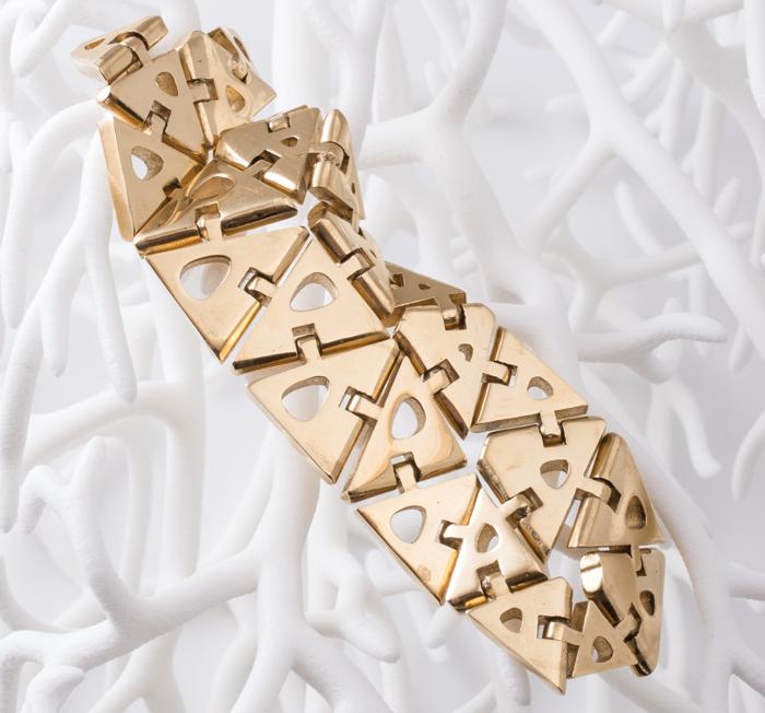 изготовленный на 3D принтере браслет
