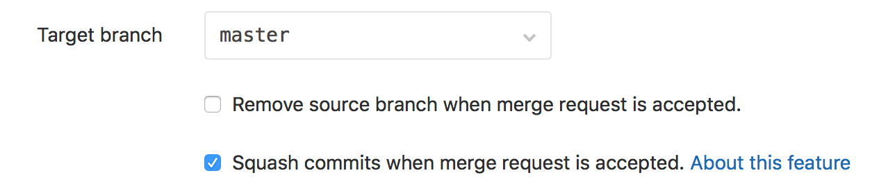 «Remove Source Branch» Disabled by Default