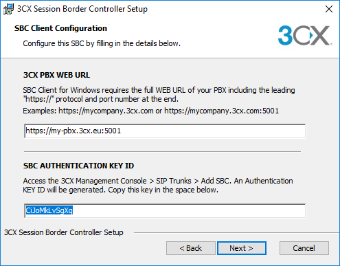 New 3CX SBC Remote Connection Manager in V16 Update 2 Beta