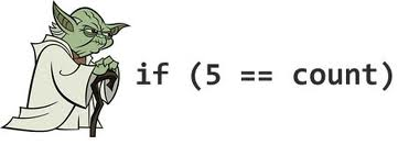 if (5==count)