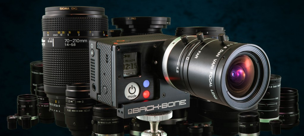 Превращение экшен-камеры GoPro 3 в фото и видеокамеру с c-mount объективами
