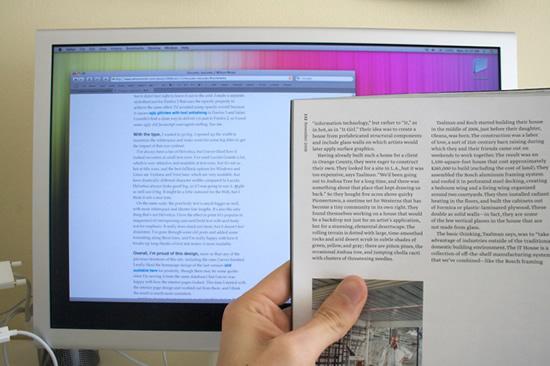 screen vs magazine