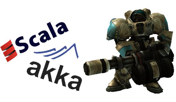 Игровой сервер на Scala + Akka
