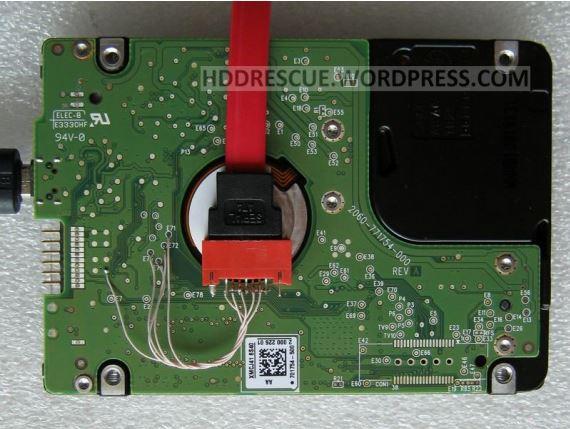 Ремонт жёсткого диска Western Digital My Passport Essential SE 750 GB USB3.0