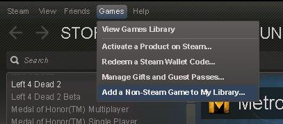 стриминг игр steam