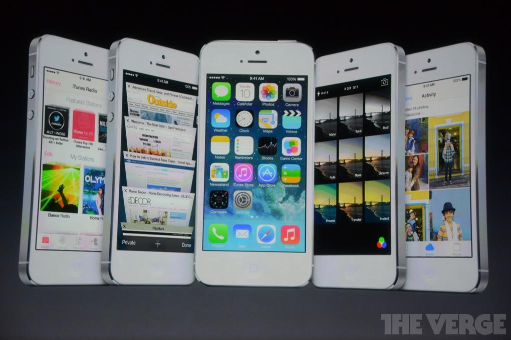Apple представила iPhone 5S, iPhone 5C и релиз iOS 7