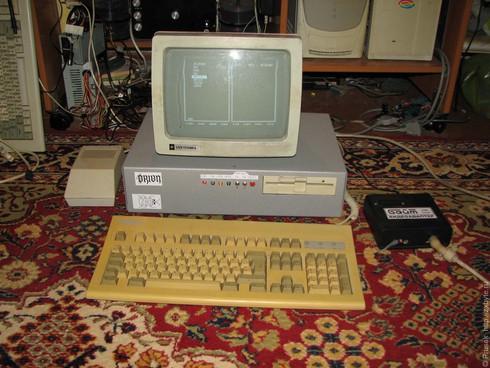 Компьютер работал в двух