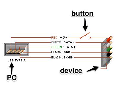 камера схема подключения по цветам