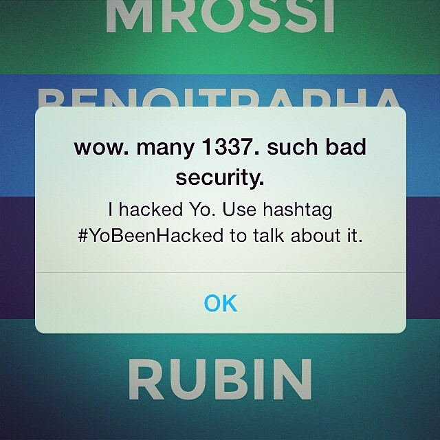 Приложение «Yo», попавшее в топ-10 приложений App Store в США, взломано сту ...