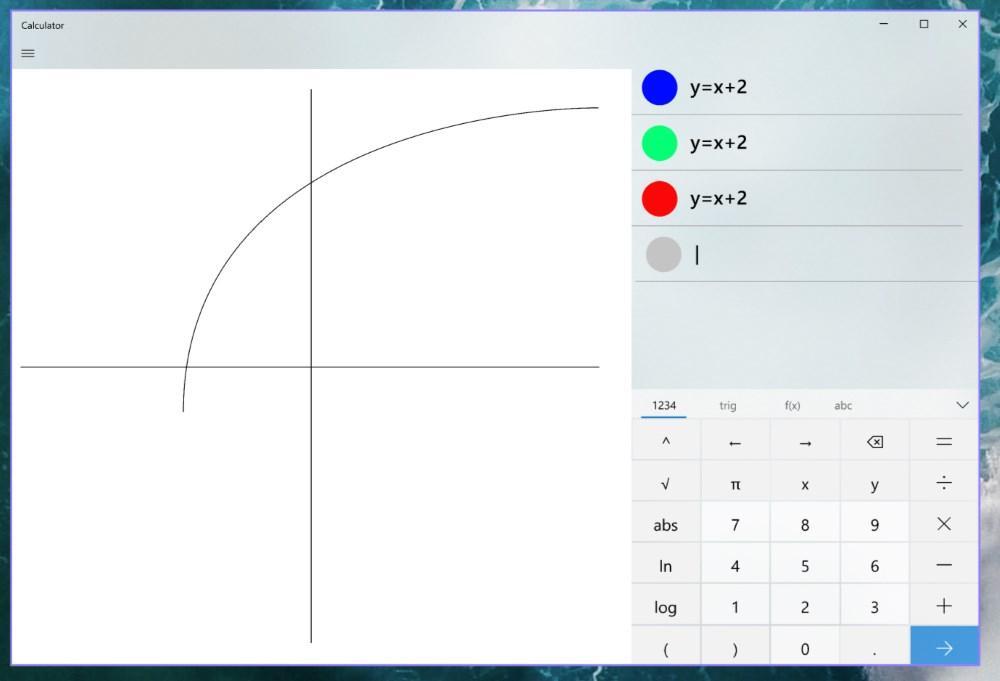 Калькулятор Windows получит графический режим