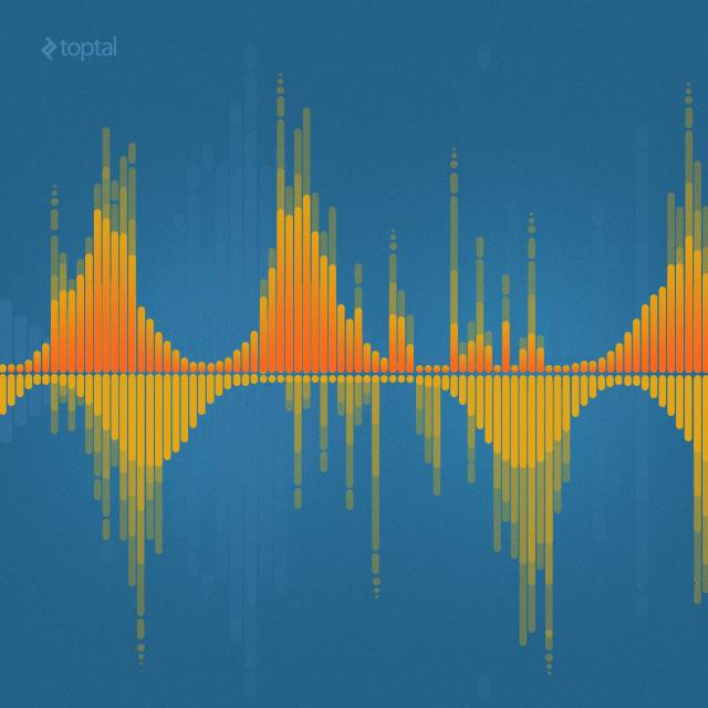 Программа на компьютере распознает музыку которая
