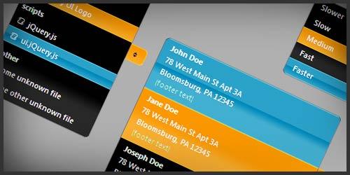 jQuery UI Selectmenu Plugin