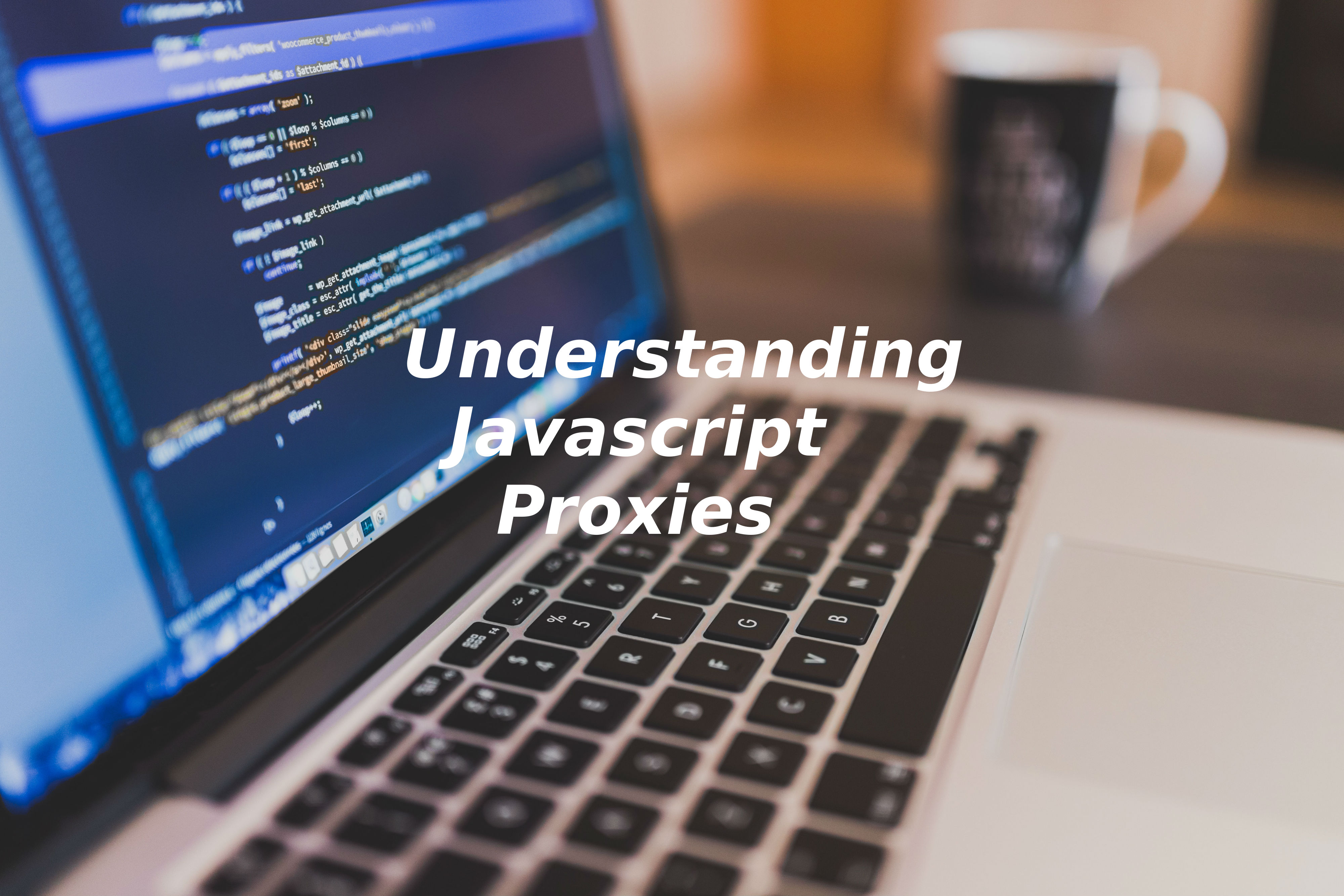 The practice of using proxy objects in JavaScript