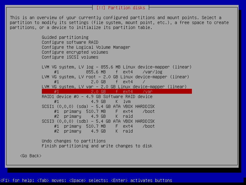 partition disks