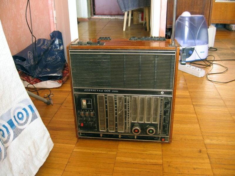 image. Радиоприемник