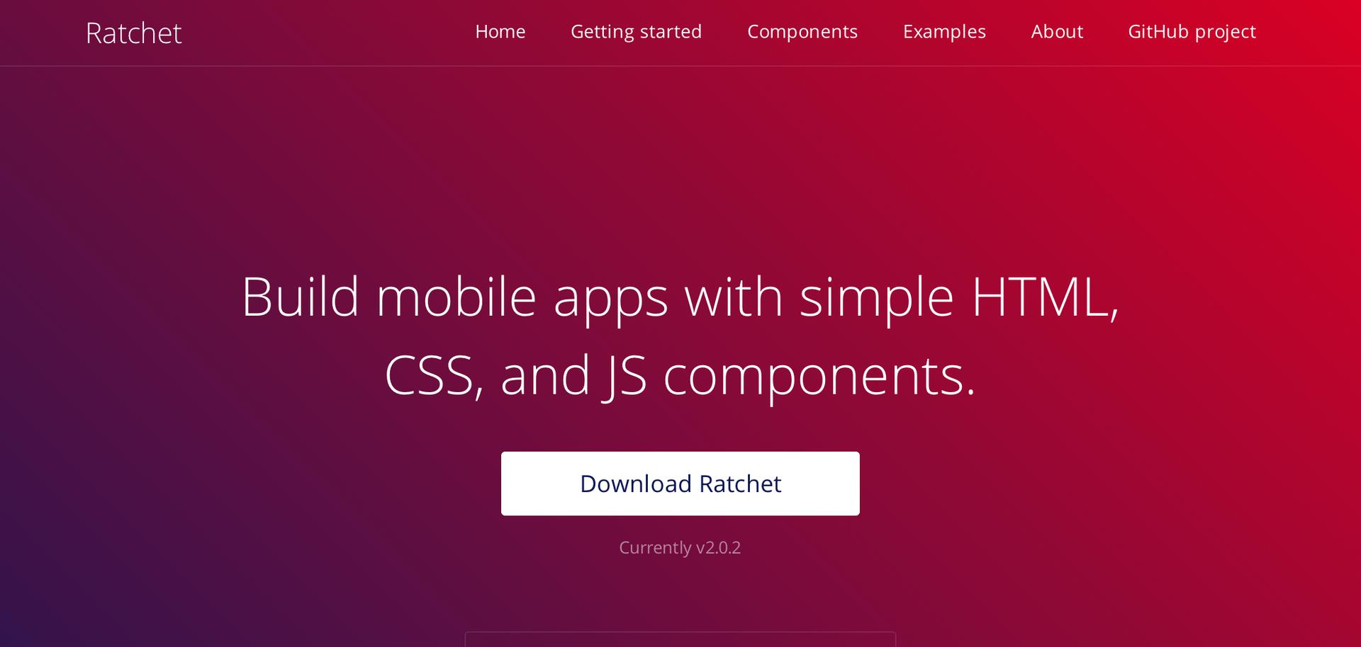 Ratchet 2.0 — самый красивый HTML5-фреймворк теперь дружит и с iOS, и с And ...