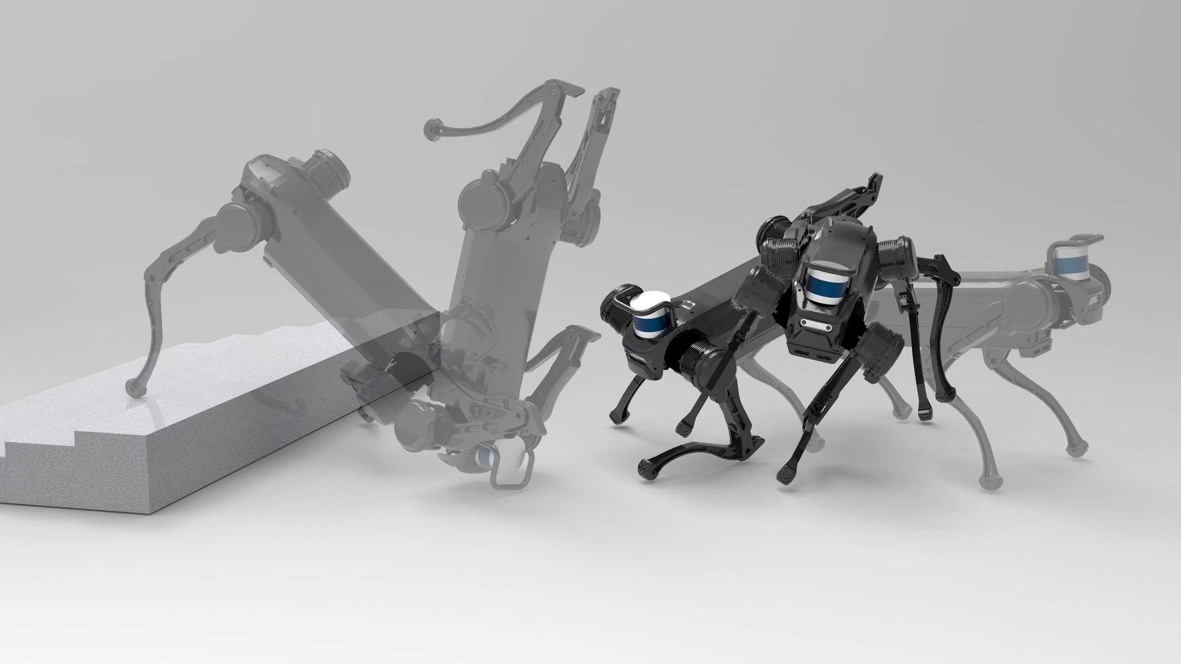 Роботов толкают, бьют и обижают. Но все в порядке  так их учат выживать в реальном мире