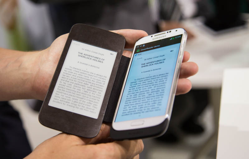 IFA 2013: Чехол-книжка PocketBook CoverReader
