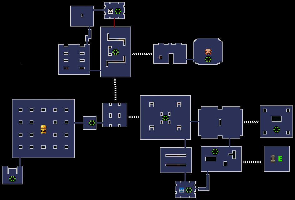 Как генерируются подземелья в Enter The Gungeon