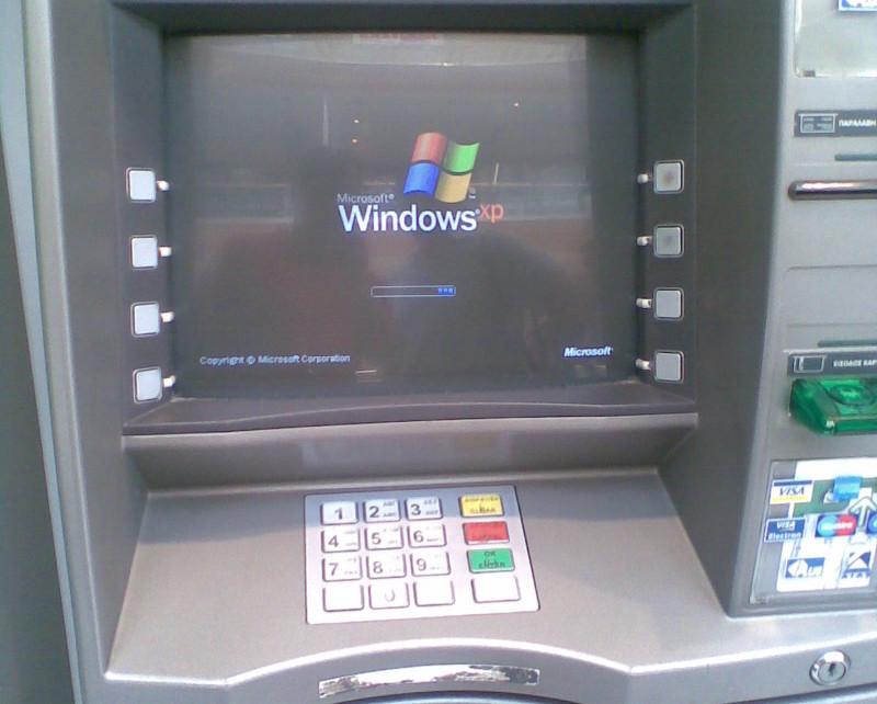Окончание поддержки Windows XP может подстегнуть переход банокматов на Linu ...