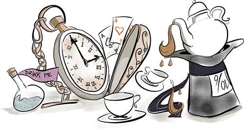 Алиса: А сколько это — «вечность»? Белый Кролик: Иногда, лишь одна секунда.