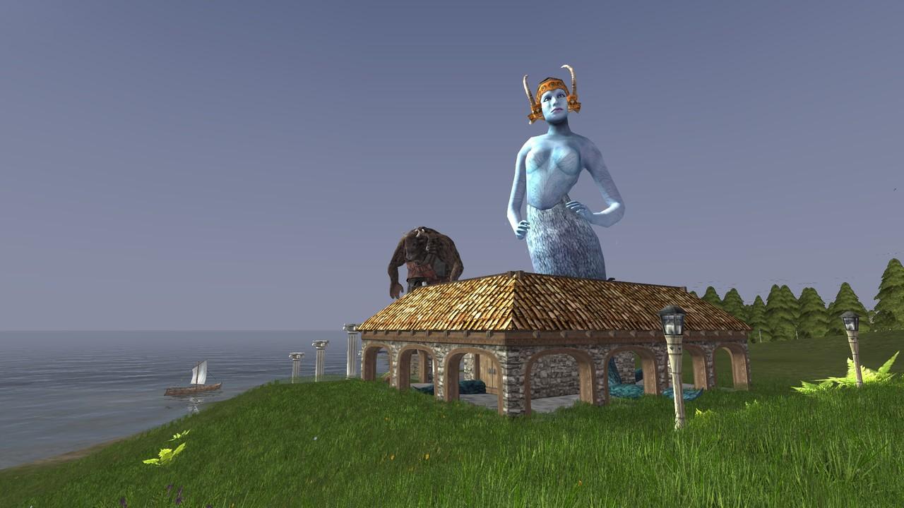 Два аватара богов Wurm Online