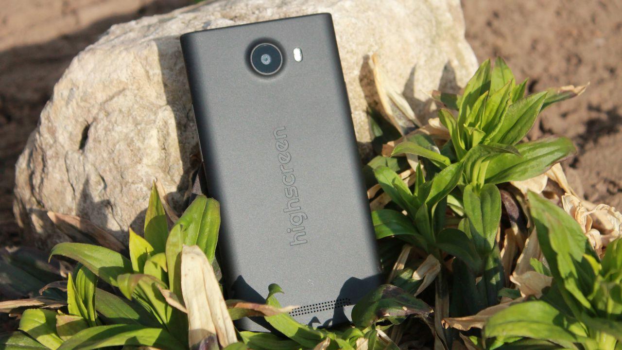 Highscreen Zera S — компактный смартфон с 4.5' экраном