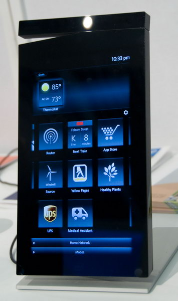 Intel Home Dashboard