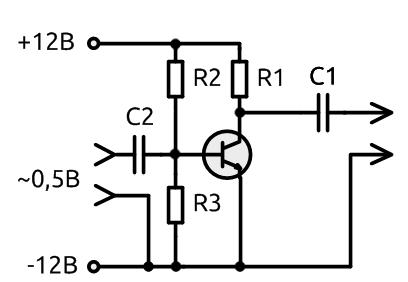 Схема включения ta8273h