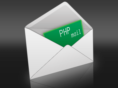 PHP mail картинка с конвертом