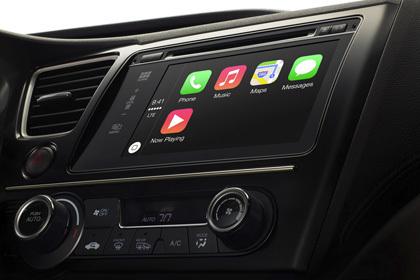 Первые автомобили с iOS на борту покажут на Женевском автосалоне