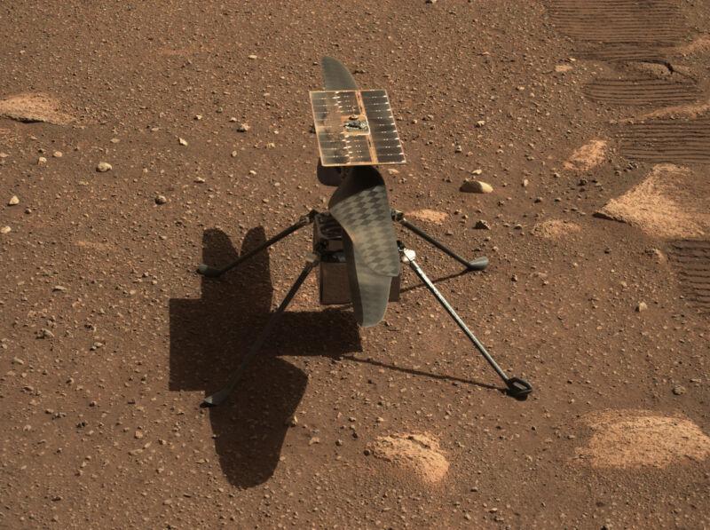 Марсолет Ingenuity полетел прямое включение трансляции НАСА (обновляется)